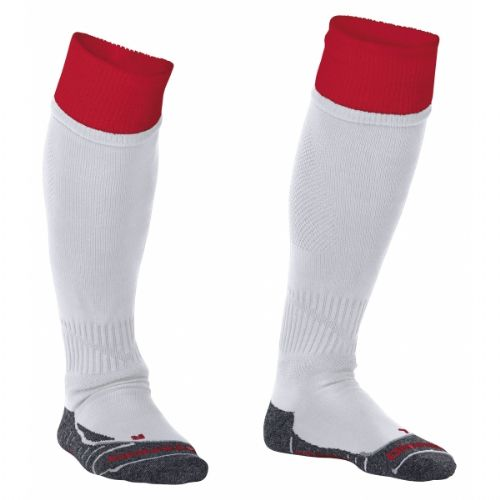 Reece Combi Socks White/Red Unisex Senior